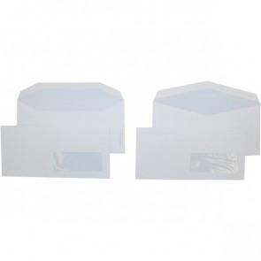 Buste comm. Pigna taglio a punta con finestra gommata 11x23 cm 80 g/mq 0388923 (conf.500)