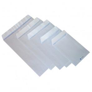 Buste a sacco bianche c/strip Sicurstrip Sacchettificio Monzese 23x33 cm 80 g/mq 908 (conf.500)