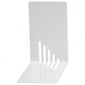 Reggilibri MAUL acciaio bianco 140x140x85mm 3501002
