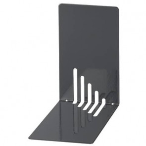 Reggilibri MAUL acciaio nero 140x140x85mm 3501090