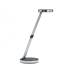 Lampada da scrivania MAUL a LED MAULpuck acciaio nero 5 W, 230 Lm, 6500K 8201290