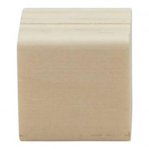 Supporti per targhe scrivibili Tag Securit? in legno 2,5x2,5 cm legno set da 6 cubi - TAG-HLD-TE