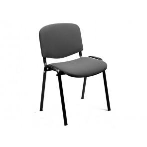 Sedia visitatore Unisit Dado 4 gambe - schienale fisso grigio chiaro