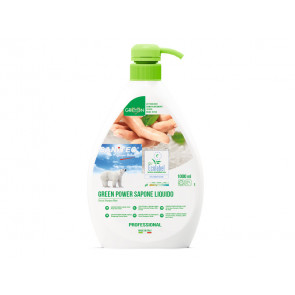 Detergente liquido mani, viso e vorpo SANITEC Green Power 1000 ml