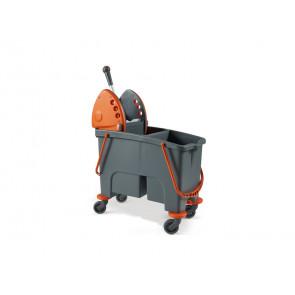 Carrello pulizia industriale Perfetto factory Duetto - con strizzatore e 2