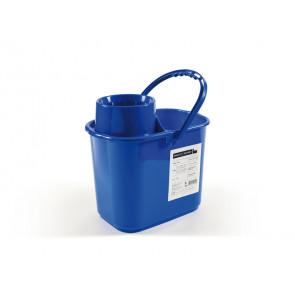 Secchio Perfetto factory Polar con strizzatore - 15 lt blu