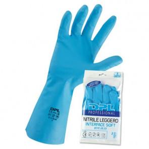 Guanto riusabile in nitrile Icoguanti L azzurro L MPNLX/L
