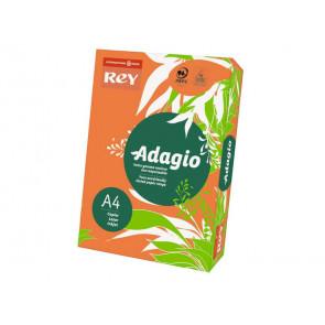 Carta colorata A4 INTERNATIONAL PAPER Rey Adagio arancio 21 risma 250 fogli - ADAGI160X467
