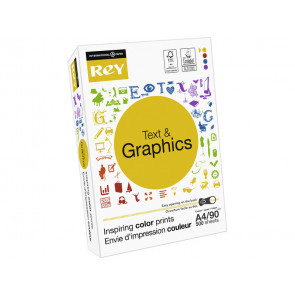 Carta per fotocopie A4 INTERNATIONAL PAPER Rey Text & Graphics 170 CIE 500 ff