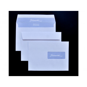 Buste con finestra Pigna Envelopes Silver90 90 g/m2x229 mm bianco