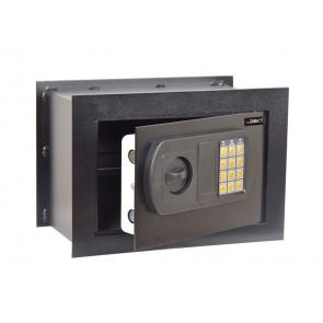 Cassaforte da muro i.DEKT con chiusura elettronica + 2 chiavi dmergenza nero