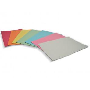 Cartelline semplici EURO-CART Cartoncino Manilla 25x35 cm gr. 190 rosso