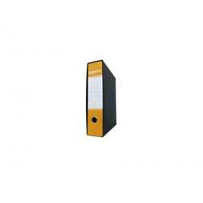 Registratore protocollo TOPToo con custodia dorso 8 cm giallo