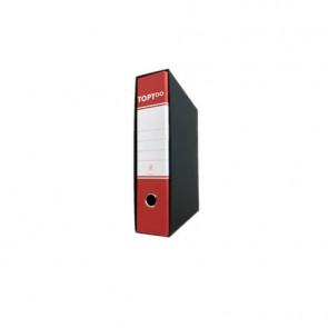 Registratore protocollo TOPToo con custodia dorso 8 cm rosso 23x33 cm - RMP8RO