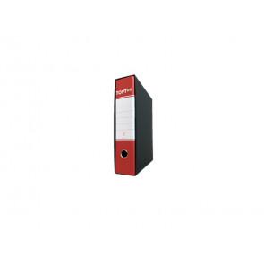 Registratore commerciale TOPToo con custodia dorso 8 cm rosso
