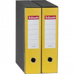 Registratori Eurofile Esselte Commerciale dorso 8 F.to utile 23x30 cm giallo 390753090