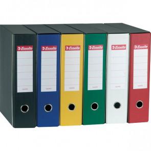 Registratori Eurofile Esselte Protocollo dorso 8 F.to utile 23x33 cm verde 390755180