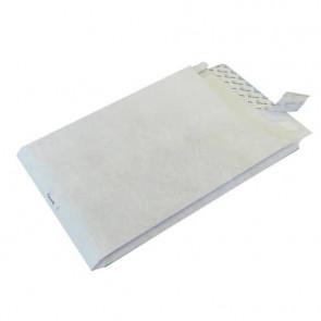 Buste a sacco con strip e 3 soffietti Tyvek Postyvek 55 g/manco 22,9x32,4