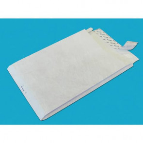 Buste a sacco con strip e 3 soffietti Tyvek Postyvek 55 g/manco 30,5x40,6