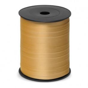 Nastro da regalo in bobina Brizzolari 'Metal Splendid' oro 10 mm x 250 mt - 3870.ORO