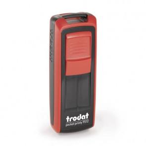 Timbri autoinchiostranti Trodat timbro nero/rosso, impronta nero 149168