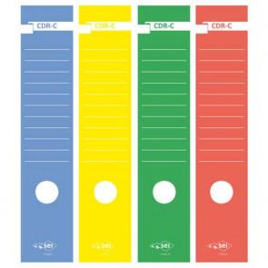 Copridorso autoadesivi Sei Rota CDR-C giallo Conf. 10 pezzi - 58012706