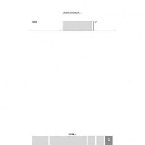 Blocco comande autoricalcanti flex 16,8x10 cm - 25x3 copie autoricalcanti 161880000