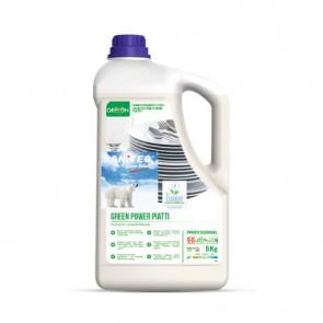 Detergenti lavapiatti Green Power Sanitec 5 kg 3104