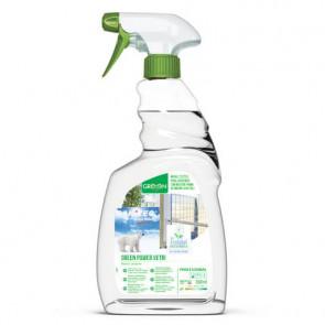 Sgrassatore per vetri Green Power Sanitec 750 ml 3102