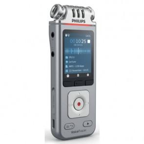 Registratore vocale digitale PHILIPS VoiceTracer ARGENTO DVT4110
