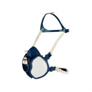 Respiratore a semimaschera 3M? riutilizzabile classe FFA1P2 RD blu - 4251+