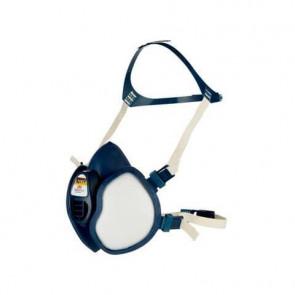 Respiratore a semimaschera 3M? riutilizzabile classe FFABE1P3 RD blu - 4277+