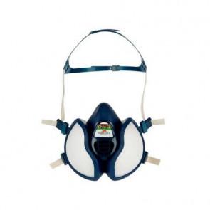 Respiratore a semimaschera 3M? riutilizzabile classe FFABEK1P3 RD blu - 4279+