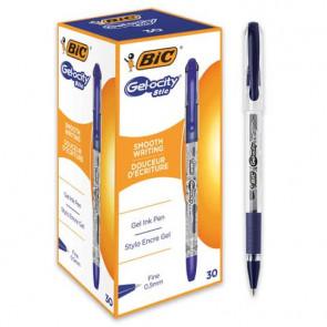 Penna gel con cappuccio BIC Gelocity Stic 0,5 mm blu 968484