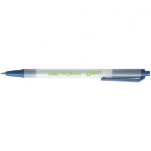 Penna ecologica a scatto BIC ECOlutions Clic Stic 0,4 mm blu 8806891