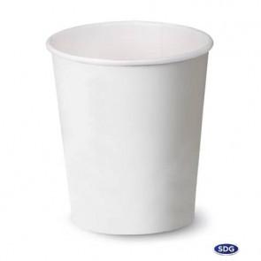 Bicchiere 3oz (85ml) Bianco in cartoncino Scatolificio del Garda Bianco - conf. 50 pezzi - 104-00-S