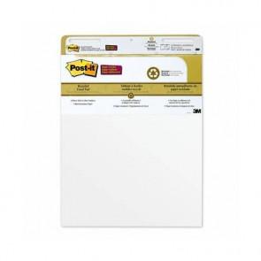 Blocchi da parete di 30 ff con adesivo rimovibile Post-it? Super Sticky bianco 63.5x77.5 cm 4 blocchi+2 omaggio 559 4+2