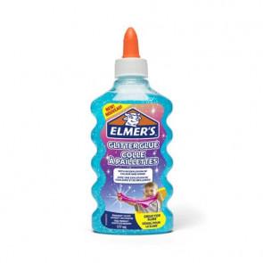 Colla Glitterata Liquida Elmer's blu - Flacone 177 ml 2077252