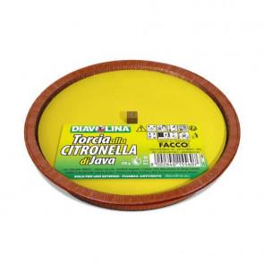 Torcia da esterno alla citronella di Java Diavolina - durata 10 ore - 15560