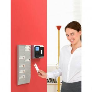 Porta badge da muro Paperflow Wall Organizer 24 posti 19,9x2,5x37,5 cm grigio chiaro - K500000