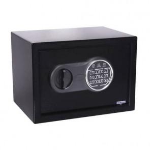 Cassaforte di sicurezza i.DEKT con chiusura elettronica 31x20x20 cm nero - SS0310ET