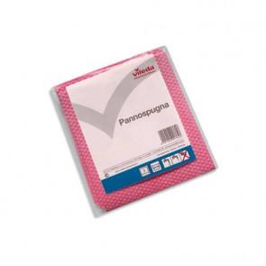 Pannospugna Vileda Professional Wettex rosso/rosa 20x18,5 cm conf. 3 pezzi - 137870