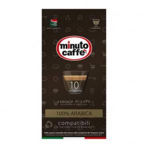 Caff? in capsule compatibili Nespresso Minuto caff? Espresso love3 100% arabica astuccio 10 pezzi - 01349
