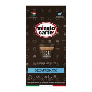Caff? in capsule compatibili Nespresso Minuto caff? Espresso love3 decaffeinato astuccio 10 pezzi - 01401