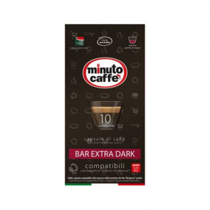 Caff? in capsule compatibili Nespresso Minuto caff? Espresso love3 bar extra dark astuccio 10 pezzi- 04901