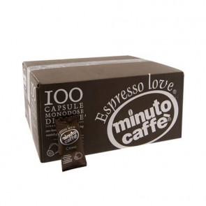 Caff? in capsule compatibili Nespresso Minuto caff? Espresso love3 crema - cartone 100 pezzi - 01314
