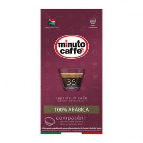 Caff? in capsule compatibili A Modo Mio Minuto caff? Espresso love4 100% arabica - astuccio 36 pezzi - 02857