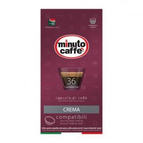 Caff? in capsule compatibili A Modo Mio Minuto caff? Espresso love4 crema - astuccio 36 pezzi - 02858