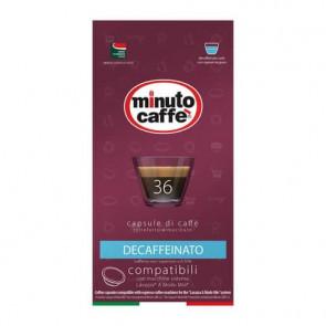 Caff? in capsule compatibili A Modo Mio Minuto caff? Espresso love4 decaffeinato - astuccio 36 pezzi - 02859