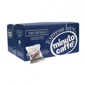 Caff? in capsule compatibili Lavazza Espresso Point Minuto caff? Espresso love2 crema - cartone 100 pezzi - 00356